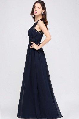 Jewel Long gaine en mousseline de soie-parole longueur manches en dentelle sexy robe de soirée_14