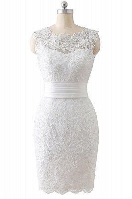 ALIYA | Vestidos de novia de encaje con lazo y falda desmontable_1