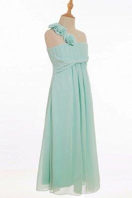 ELORA   A-line Floor-length One Shoulder Chiffon Bridesmaid Dresses_6