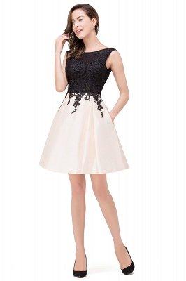 EVA | A-line Sleeveless Lace Appliques Short Prom Dresses_14