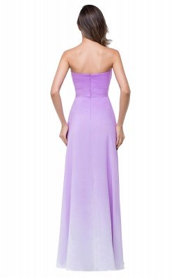 ADRIENNE | A-line Strapless Chiffon Bridesmaid Dress_3