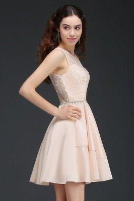 Sexy Rosa Cocktailkleider Mini   Schöne Kleider Online Kaufen_6