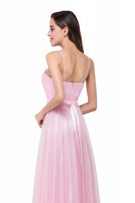 spaghetti bridesmaid dresses