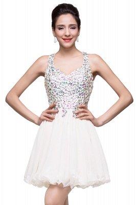 ELIANNA | Платье выпускного вечера с шифоновыми шифонами без рукавов с бриллиантами_1
