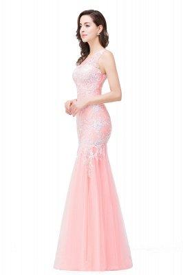Longue robe de bal maxi dentelle sirène sans manches_10