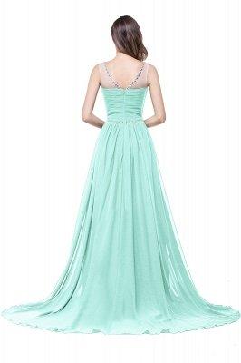 AIMEE | A-Linie Gericht Zug Chiffon Party Kleid mit Perlenstickerei_10