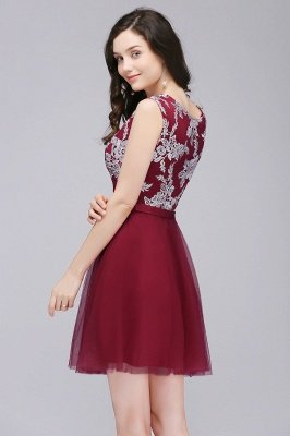 Sleeveless Homecoming Party Dresses