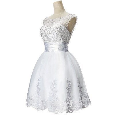 CELIA | A-Linie Juwel Tüll Partykleid mit Perlenstickerei_4