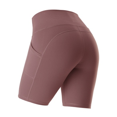Yoga Gym Running Biker Athletic Booty Short Pants Indoor Exercise Supplies_3