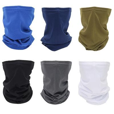 Sonnen-UV-Schutz Halsmanschette Waschbar Wiederverwendbare magische Gesichtsbedeckung Staub Wind Bandana Sturmhaube