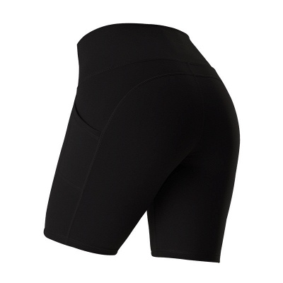 Yoga Gym Running Biker Athletic Booty Short Pants Indoor Exercise Supplies_5
