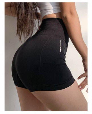 High Waist Women Elastic Yoga leggings Shorts Pants Full Tights_2