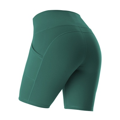 Yoga Gym Running Biker Athletic Booty Short Pants Indoor Exercise Supplies_6
