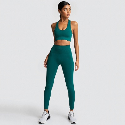 Fashion High Waist Leggings Women Fitness Overall Full Tights Running Yoga Suits_6