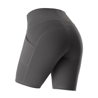 Yoga Gym Running Biker Athletic Booty Short Pants Indoor Exercise Supplies_2