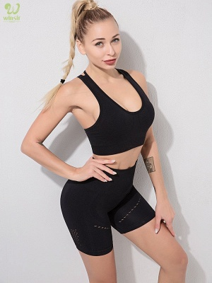 Running Bra and Activewear Pants Yoga Clothing Sets for Women Sport Clothing_9