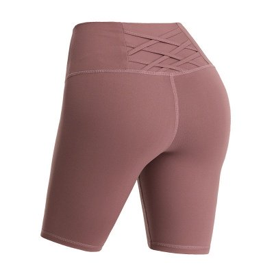 Women's Running Shorts Workout Booty Shorts Compression Mesh Yoga Shorts