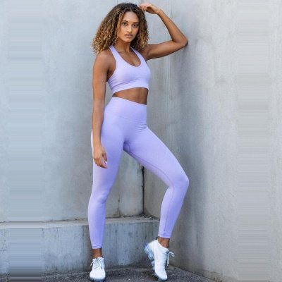 Fashion High Waist Leggings Women Fitness Overall Full Tights Running Yoga Suits_21