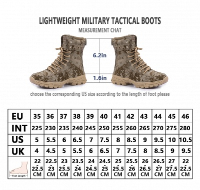Ankle Combat Boots Waterproof Military Tactical Work Boot Lace Up Outdoor Boots3157_9
