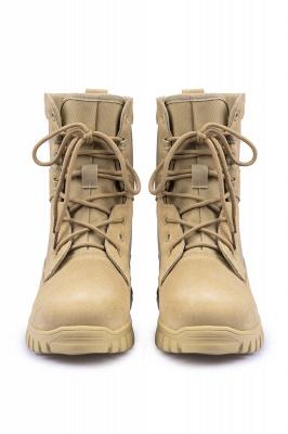 Легкие тактические ботинки Breach 2.0 на молнии, женские мужские модные кожаные ботинки цвета хаки 1460_3