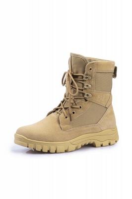 Легкие тактические ботинки Breach 2.0 на молнии, женские мужские модные кожаные ботинки цвета хаки 1460_2