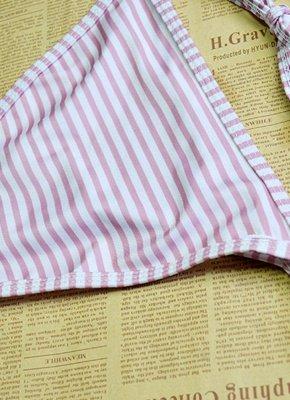 Sexy Women Swimwear Ruffles Bandage Bikini Set Swimsuit_6