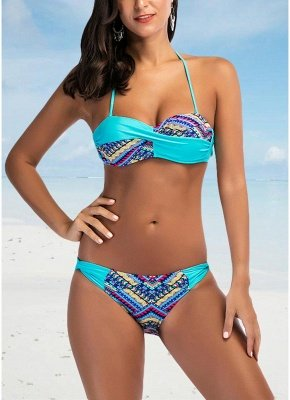 Women Bikini Set Padded Top Bottom Beach Swimwear Swimsuit Bathing Suit