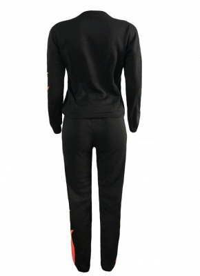 Sweat Suits Trousers Casual Two Pieces_4