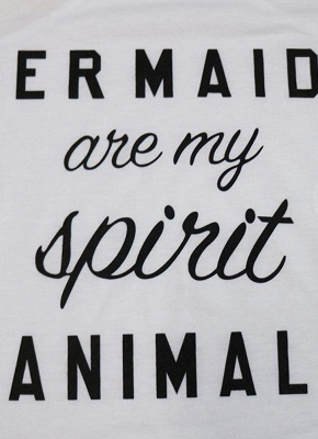 Tee-shirt décontracté sans manches à imprimé lettre_5
