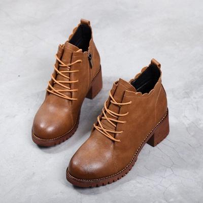 Короткие каблуки с застежкой-молнией_7