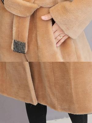 Manteau col fourrure et manteaux en peau de mouton_8