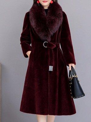 Manteau col fourrure et manteaux en peau de mouton_2