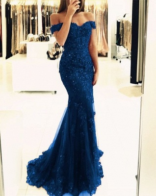 Elegante Abendkleider Lang Rot | Spitze Abendkleid Online Günstig_4
