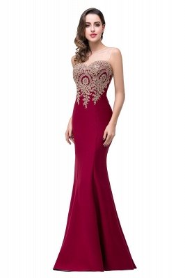 EMMY | Mermaid Floor-Length Sheer Prom Dresses with Rhinestone Appliques_6