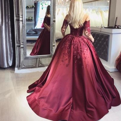 Elegante Abendkleider Mit Ärmel | Spitze Abendmoden Günstig Online_3