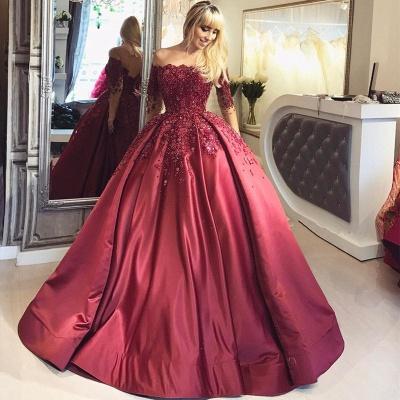 Elegante Abendkleider Mit Ärmel | Spitze Abendmoden Günstig Online_4