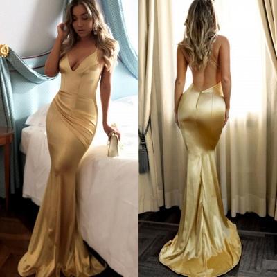 Sexy Spaghetti Strap Sleeveless Prom Dress   Simple Formal Dress_3