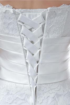 Elegantes Schatz-Spitze-Hochzeits-Kleid-Knöchel-Längen-Reich Brautkleid CPS240_7