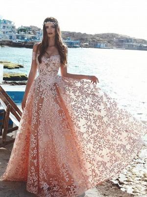 Exquisitos vestidos de fiesta una línea de flores   Apliques de cuentas fuera del hombro vestidos de noche_1