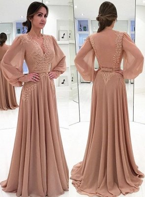 Elegante Altrosa Abendkleider Bodenlang | Schones ...